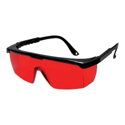 Laser enhancement glasses, red