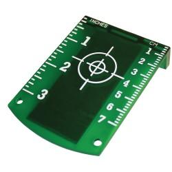Laser target, green