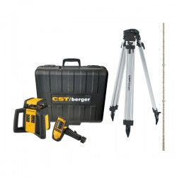 Self-leveling rotary laser level kit