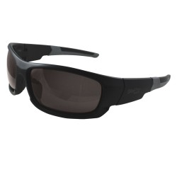 Canon Black Safety Glasses, Smoke Non-Polarized