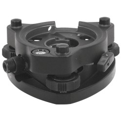 1200-B Precision Tribrach, Swiss-Style, Black