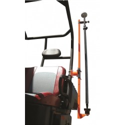 UTV Square Roll Cage Transporter for GPS Rods