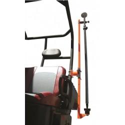 UTV Round Roll Cage Transporter for GPS Rods