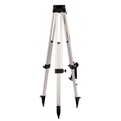 Aluminum Tripod with Round Legs - Black