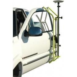 GPS Truck Door Bracket - Flo Yellow