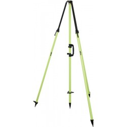 Fixed-Height GPS Antenna Tripod with 2 m Center Staff - Flo Yellow