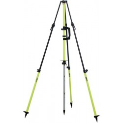 Graduated Collapsible GPS Antenna Tripod - Flo Yellow