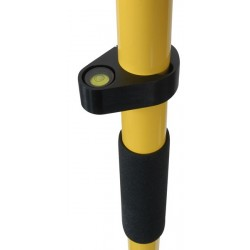 2 m Two-Piece GPS Rover Rod - Standard Yellow
