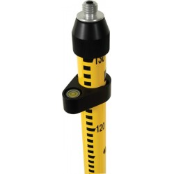 "2 m Snap-Lock Rover Rod with Outer ""GM"" Grad - Standard Yellow"