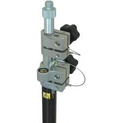 3.5 m Carbon Fiber, Fixed Tip Robotic Pole - Metric Grad