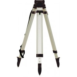 Aluminum Tripod with Round Legs Quick Clamp - Black