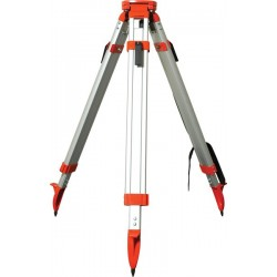 Aluminum Tripod with Square Legs Quick Clamp — Orange