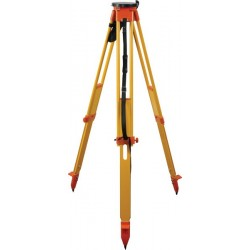 Birchwood Twist-Lock Round Head Tripod - Orange