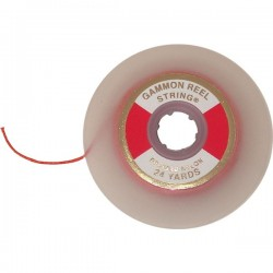 Gammon Reel Refill Cord - Flo Red