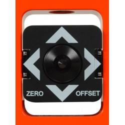 25 mm Stakeout Prism Assembly / 0 and -30 mm Offset - Flo Orange