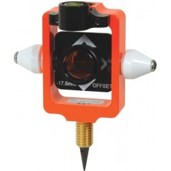 Nodal Point Stakeout Mini 25 mm Prism with Site Cones - Flo Orange