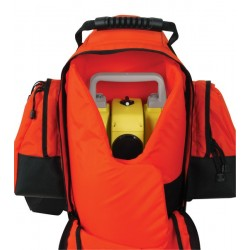 400 mm Total Station or Theodolite Backpack - Orange
