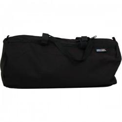 Duffel Bag with Loops - Black