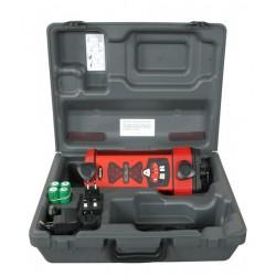 Apache Bullseye 3+ Machine Control Laser Receiver with Alkaline Battery - Red