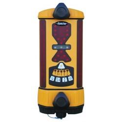 Apache Bullseye 5+ Machine Control Laser Receiver with Alkaline Battery - Yellow