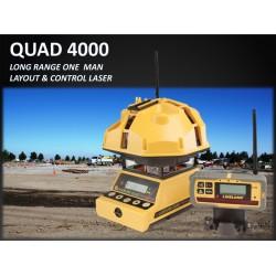 QUAD 4000 Long Range One Man Layout & Control Laser
